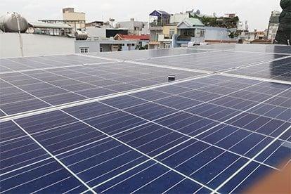 Lắp đặt hệ thống điện năng lượng mặt trời nối lưới công suất 3.105kwp - 1 PHA_QCELLS tại Quận 10