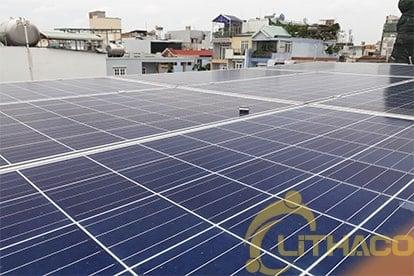 Lắp đặt hệ thống điện năng lượng mặt trời nối lưới công suất 3.105kwp - 1 PHA_QCELLS tại Quận 10 6
