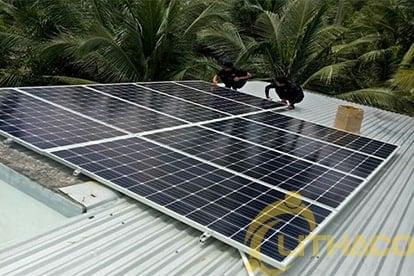 Lắp đặt hệ thống điện năng lượng mặt trời nối lưới công suất 3.33 kWp - 1P _QCELLS tại Vĩnh Long 13