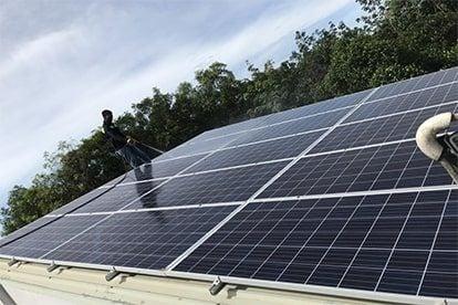 Lắp đặt hệ thống điện năng lượng mặt trời nối lưới công suất 2.24 kwp 1P tại Tân Uyên