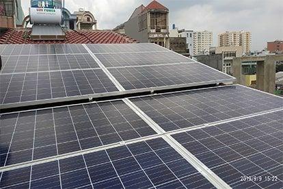 Lắp đặt hệ thống điện năng lượng mặt trời nối lưới công suất 4.32 kWp - 1P_QCELLS tại Hóc Môn