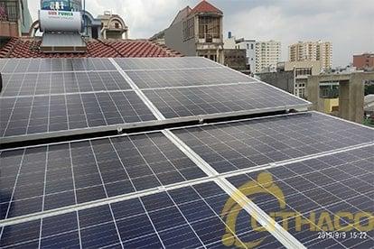 Lắp đặt hệ thống điện năng lượng mặt trời nối lưới công suất 4.32 kWp - 1P_QCELLS tại Hóc Môn 9