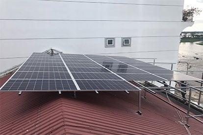 Lắp đặt hệ thống điện năng lượng mặt trời nối lưới công suất 8.4 kWp - 1P _QCELLS tại Sa Đéc
