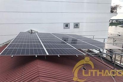 Thi công lắp đặt năng lượng mặt trời nối lưới 8.4 kWp