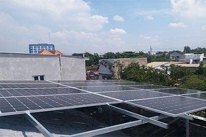 Lắp đặt hệ thống điện năng lượng mặt trời nối lưới công suất 5.18 kWp - 1P_QCELLS tại Bình Chánh TPHCM