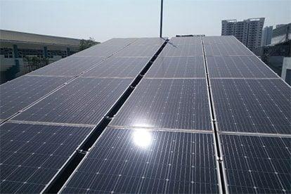 Lắp đặt hệ thống điện năng lượng mặt trời nối lưới công suất 4.14Kwp - 1 PHA tại Hóc Môn khách hàng Lý Bạch Kiều
