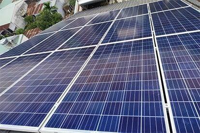 Lắp đặt hệ thống điện năng lượng mặt trời nối lưới công suất 5.28 kWp - 1P_QCELLS