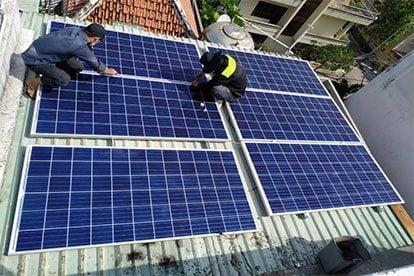 Lắp đặt hệ thống điện năng lượng mặt trời nối lưới công suất 3.33 kWp - 1P tại Đồng Nai khách hàng Đinh Đức Lợi