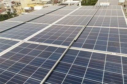 Lắp đặt hệ thống điện năng lượng mặt trời nối lưới công suất 6.555 Kwp - 1 Pha_QCELLS