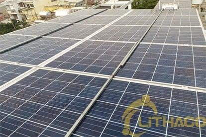 Lắp đặt hệ thống điện năng lượng mặt trời nối lưới công suất 6.555 Kwp