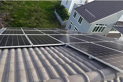 Lắp đặt hệ thống điện năng lượng mặt trời nối lưới công suất 6.66 kWp - 3P _QCELLS