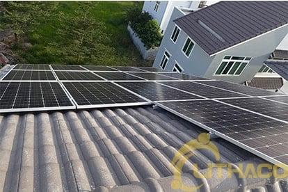 Lắp điện năng lượng mặt trời nối lưới