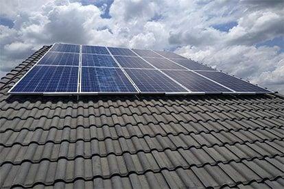 Lắp đặt hệ thống điện năng lượng mặt trời nối lưới công suất 5kwp _QCELLS tại Đồng Nai