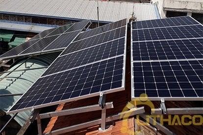Lắp điện năng lượng mặt trời nối lưới công suất 5.18 kWp - 1P _QCELLS