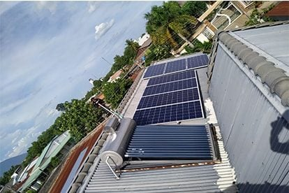 Lắp đặt hệ thống điện năng lượng mặt trời nối lưới công suất 3.06 kWp - 1P _QCELLS