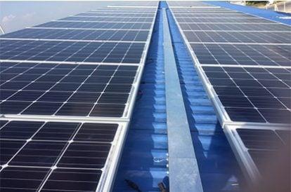 Lắp đặt hệ thống điện năng lượng mặt trời nối lưới công suất 15.54 kWp - 1P tại Tiền Giang khách hàng Nguyễn Thị Kim Thu
