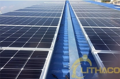 Lắp đặt điện năng lượng mặt trời nối lưới