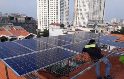 Điện mặt trời 4KWp cho nhà có hóa đơn tiền điện từ 1 triệu đến 2 triệu