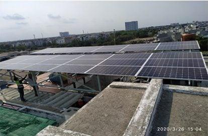 Tên Dự án: Lắp đặt hệ thống điện năng lượng mặt trời nối lưới công suất 11 kWp – 3P tại Thủ Đức khách hàng Trần Quang Nghiệp