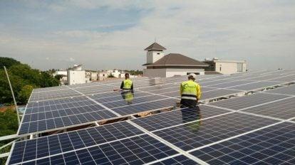 Ngành tái chế tấm pin mặt trời đang rất phát triển