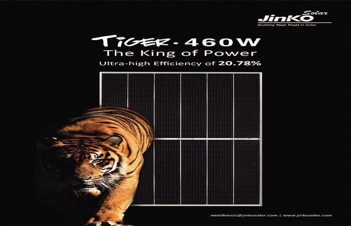 Tấm pin JinkoSolar Tiger Mono-facial 460w