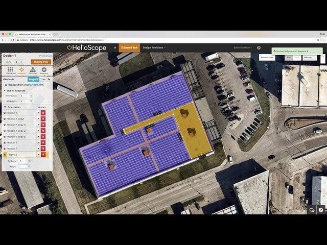 Helioscope: Hướng dẫn từng bước cho thiết kế PV mặt trời