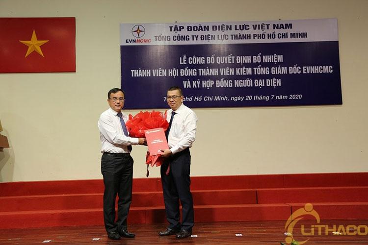 Chính thức bổ nhiệm Tổng Giám đốc Tổng Công ty Điện lực TP.HCM 1