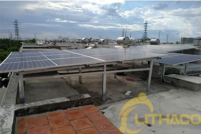 Tên Dự án: Lắp đặt hệ thống điện năng lượng mặt trời nối lưới công suất 5kwp-1 phase khách hàng Phạm Quốc Dũng Nhà Bè