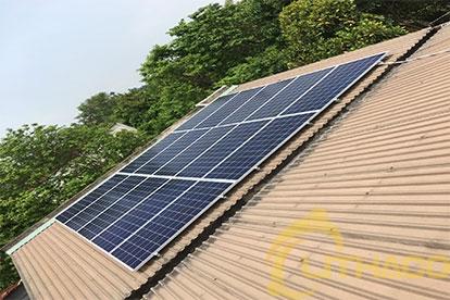Điện mặt trời nối lưới 5.175 kWp