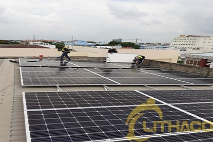 Điện mặt trời nối lưới 3.105 kWp