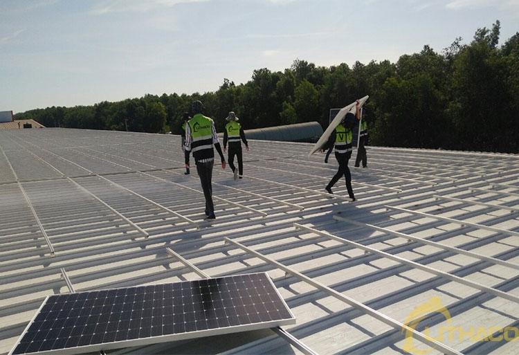 Tên Dự án: Thiết kế, Cung cấp và lắp đặt hệ thống điện năng lượng mặt trời mái nhà công suất 600kW -3 Pha. JINKO. Khách hàng CÔNG TY TNHH NĂNG LƯỢNG LIÊN KIỆT