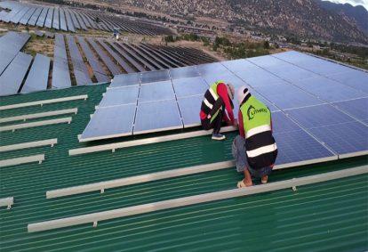 Tên Dự án: Thiết kế, Cung cấp và lắp đặt hệ thống điện năng lượng mặt trời mái nhà công suất 999kW -3 Pha. GCL. Khách hàng CÔNG TY TNHH NĂNG LƯỢNG SẠCH PHƯỚC TRUNG