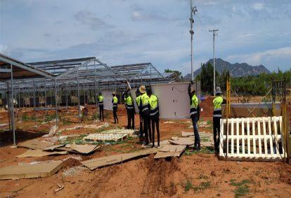 Tên Dự án: Lắp đặt hệ thống điện năng lượng mặt trời nối lưới công suất 999 kWp - 3P_JINKO. Khách hàng CÔNG TY TNHH THÁI PHAN NINH THUẬN