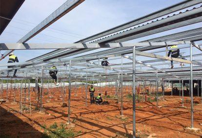 Tên Dự án: Lắp đặt hệ thống điện năng lượng mặt trời nối lưới công suất 999 kWp - 3P_JINKO. Khách hàng CÔNG TY TNHH THÁI TƯỜNG NINH THUẬN