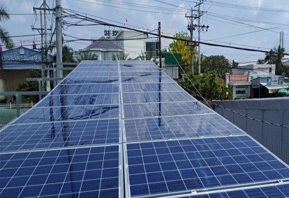 Điện mặt trời nối lưới 4.14 kWp