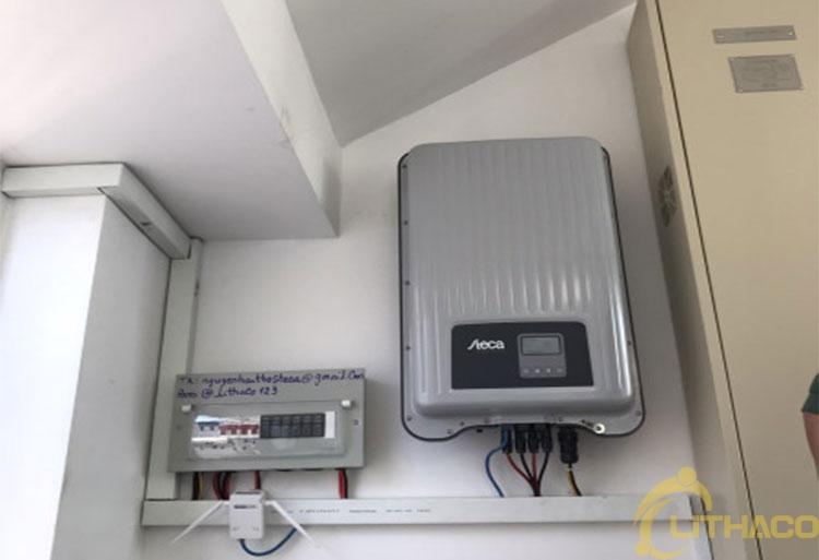 Tên Dự án:Lắp đặt hệ thống điện năng lượng mặt trời nối lưới công suất 5.18 kWp - 1P _QCELLS khách hàng Nguyễn Hải Thọ, Quận Tân Bình.