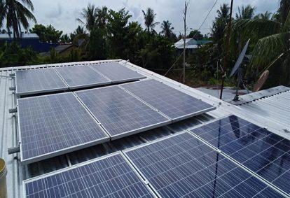 Điện mặt trời nối lưới 3.9 kWp