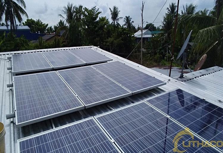 Tên Dự án: Lắp đặt hệ thống điện năng lượng mặt trời nối lưới công suất 3.9 kWp - 1P _QCELLS khách hàng Nguyễn Mạnh Tiến, Quận 3.