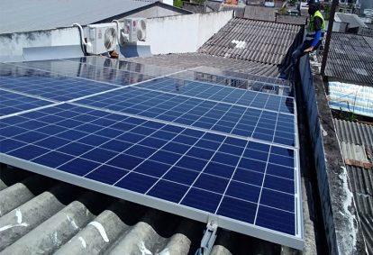 Điện mặt trời nối lưới 4.74 kWp