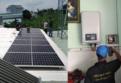Điện mặt trời nối lưới 3.1 kWp