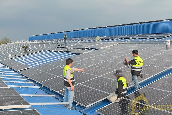 LITHACO là một trong những công ty lắp điện mặt trời được EVN lựa chọn trong nền tảng solar