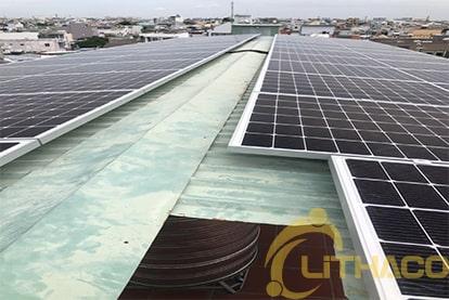 Tên Dự án: Lắp đặt hệ thống điện năng lượng mặt trời nối lưới công suất 14.4 kWp - 1P _QCELLS khách hàng Nguyễn Hữu Hùng , TPHCM