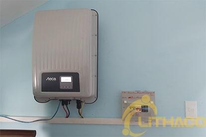 Tên Dự án: Lắp đặt hệ thống điện năng lượng mặt trời nối lưới công suất 3 kWp - 1P _QCELLS khách hàng Trần Hữu Khoa , TPHCM