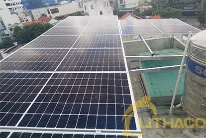 Tên Dự án: Lắp đặt hệ thống điện năng lượng mặt trời nối lưới công suất 5.2 kWp - 1P _QCELLS khách hàng Trần Minh Toàn , TPHCM