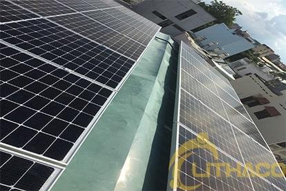 Tên Dự án: Lắp đặt hệ thống điện năng lượng mặt trời nối lưới công suất 5.2 kWp - 1P _QCELLS khách hàng Lê Văn Tráng, TPHCM