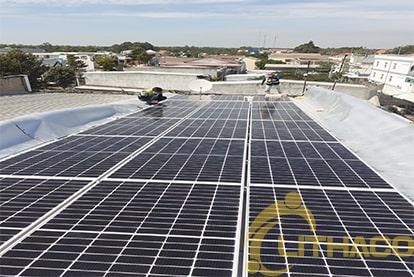 Tên Dự án: Lắp đặt hệ thống điện năng lượng mặt trời nối lưới công suất 5.2 kWp - 1P _QCELLS khách hàng Văn Đình Tiến , Đồng Tháp