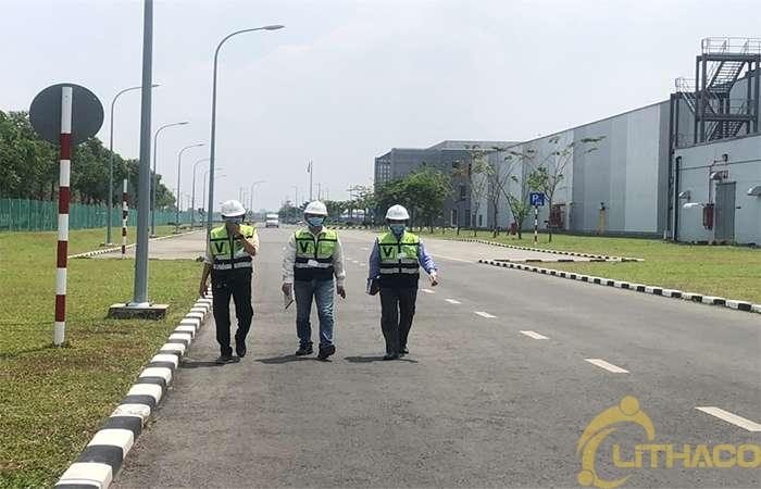 LITHACO tham quan nhà máy sản xuất pin mặt trời First Solar Ở Việt Nam