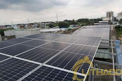 Điện mặt trời nối lưới 30 kWp