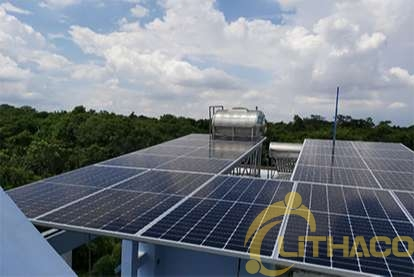 Điện mặt trời nối lưới 5 kWp