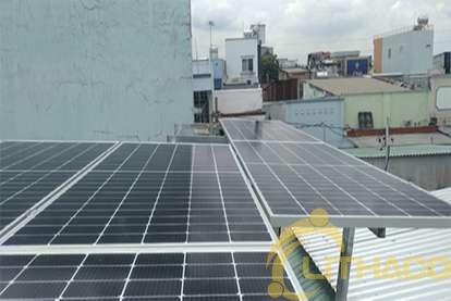 Điện mặt trời nối lưới 4.8 kWp